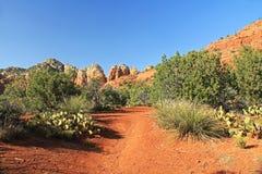 Czerwona Rockowa formacja w Sedona Arizona Obrazy Stock