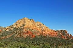 Czerwona Rockowa formacja w Sedona Arizona Obraz Stock