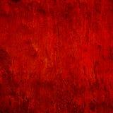 Czerwona rocznika cementu ściana Zdjęcia Royalty Free