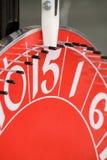 czerwona ruletka Fotografia Royalty Free