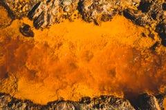czerwona rzeka Zdjęcia Stock
