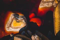czerwona rzeka Fotografia Royalty Free