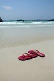 Czerwona sandał opowieść Fotografia Royalty Free
