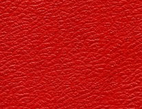 czerwona skórzana konsystencja Fotografia Stock