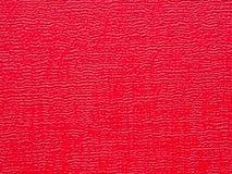 czerwona skórzana tła konsystencja Obraz Royalty Free