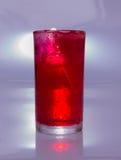 Czerwona sodowana woda Obrazy Stock