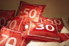 czerwona sprzedaż Zdjęcia Royalty Free