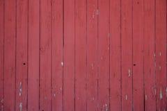 Czerwona stajni ściana Obrazy Stock