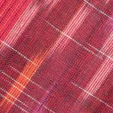 Czerwona szorstka tkaniny tekstura zdjęcia stock