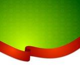Czerwona taśma faborku tło Obraz Stock