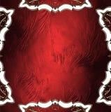 Czerwona tekstura z białymi wzorami Element dla projekta Szablon dla projekta odbitkowa przestrzeń dla reklamy broszurki lub zawi Zdjęcia Royalty Free