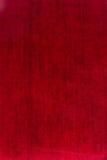 Czerwona tkaniny płótna tekstura Zdjęcie Royalty Free