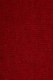 Czerwona tkaniny tekstura Obrazy Royalty Free