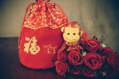 Czerwona torba Zdjęcia Stock