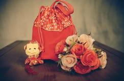 Czerwona torba Obraz Stock