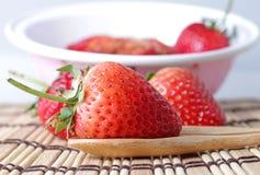 Czerwona truskawka Fotografia Stock