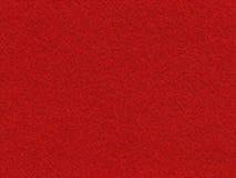 Czerwona velvety tekstura Zdjęcie Stock