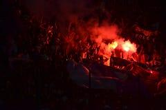 Czerwona wściekłość Fotografia Stock