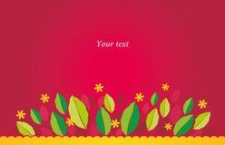 czerwona wiosna Fotografia Stock