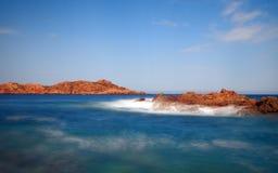 Czerwona wyspa Zdjęcia Stock