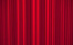 Czerwona zasłona Obrazy Stock