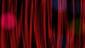 Czerwona zasłona ilustracji