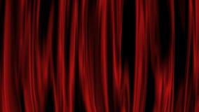 Czerwona zasłona royalty ilustracja