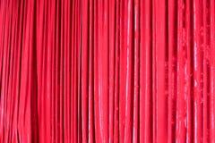 Czerwona zasłona Zdjęcie Royalty Free