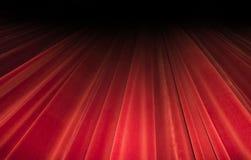 Czerwona zasłony scena Teatru wizerunku pojęcie Obrazy Royalty Free