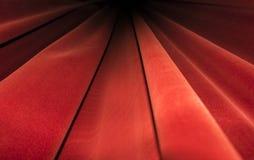 Czerwona zasłony scena Teatru wizerunku pojęcie Fotografia Royalty Free