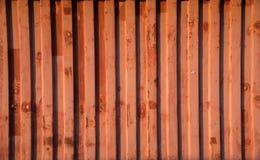 Czerwona zbiornik ściana która buduje jako chwilowy biuro obraz royalty free