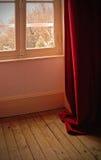 czerwona zimy. zdjęcie royalty free