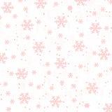 Czerwonawy śnieg Obrazy Stock