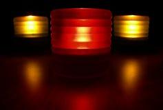 czerwone światła Zdjęcie Royalty Free