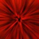 Czerwone światło przyszłościowa plama Obrazy Royalty Free