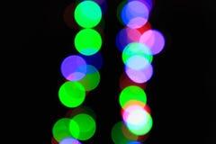 Czerwone Światło - zielony expo reggae tło Zdjęcia Stock