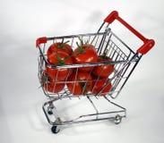 czerwone świeżych pomidorów Zdjęcia Stock