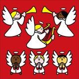czerwone angelitos Zdjęcia Royalty Free