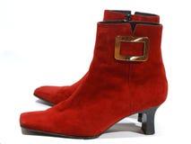 czerwone buty. Zdjęcia Stock