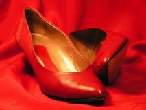 czerwone buty. Obrazy Stock
