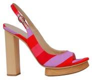 czerwone buty Zdjęcia Royalty Free