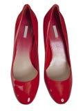 czerwone buty Zdjęcie Stock