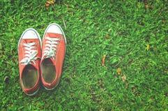 czerwone buty Obraz Royalty Free