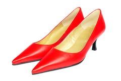 czerwone buty. Fotografia Stock