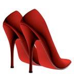czerwone buty ilustracja wektor