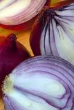 Czerwone cebule Zdjęcie Royalty Free