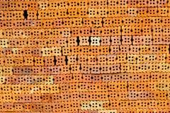 Czerwone cegły Zdjęcie Stock