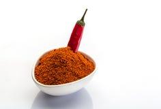 czerwone chilies Obrazy Royalty Free