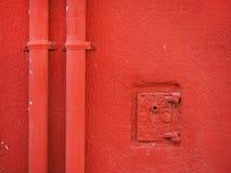 czerwone ściany Fotografia Royalty Free