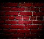 czerwone ściany fotografia stock